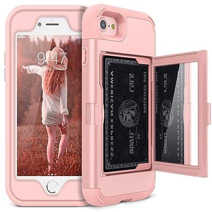 Amazon.com: iPhone 7 estuche billetera– Defender iPhone 8 ...