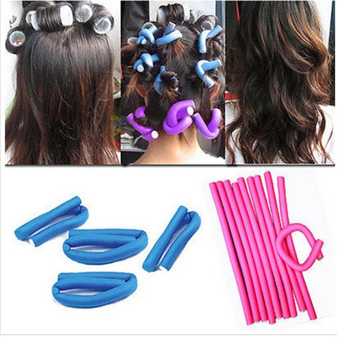 10PCS/Lot Useful Women DIY y Foam Benders Safe Hair Dressing Curlers Curly Roller