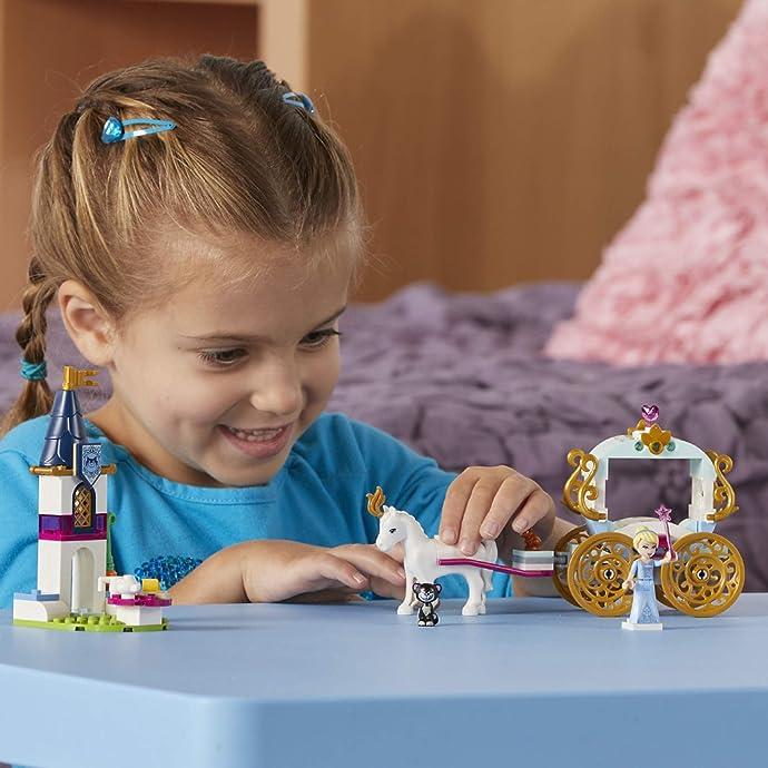 LEGO 乐高 Disney迪士尼公系列 41159 灰姑娘的梦幻马车之旅 积木玩具 6.5折$12.99史低 海淘转运到手约¥107