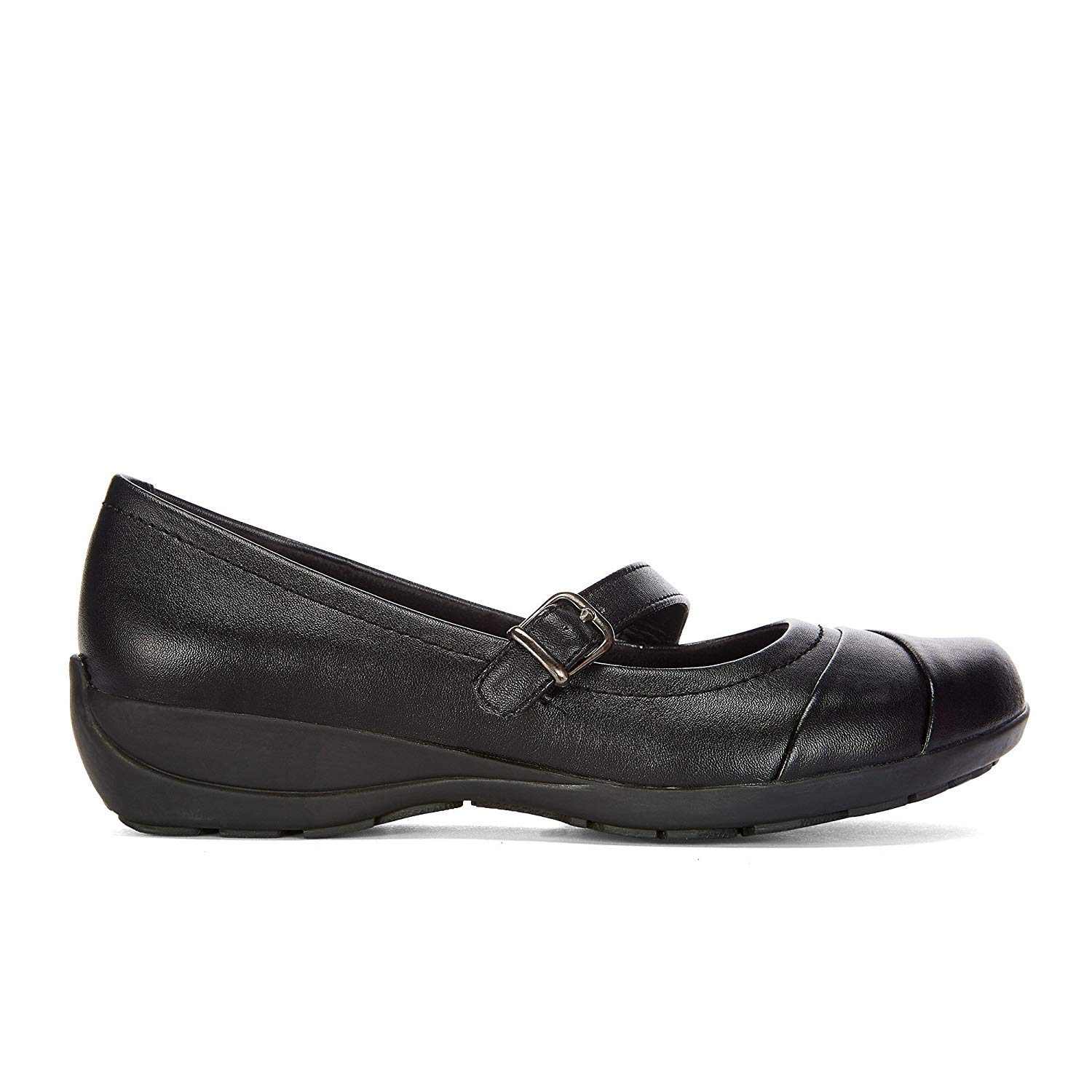Womens No-Slip Vegan Leather Mary Jane Shoes with Memory Foam Insole