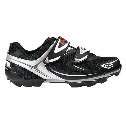 Zapatos de MTB/Spinning Northwave Spike Black/White/Shoes Northwave Spike Black,