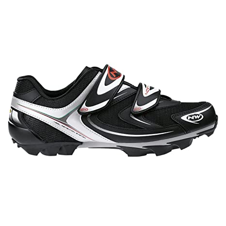 Zapatos de MTB/Spinning Northwave Spike Black/White/Shoes ...