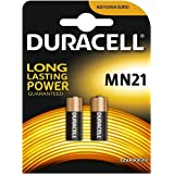 Duracell 2665c Lot de 2 piles alcalines Security A23/K23A LRV08 12 V