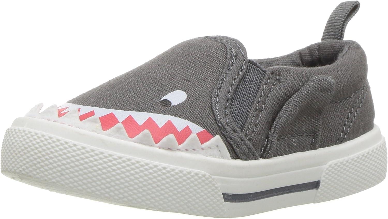 carter's Boys' Damon Casual Slip-on Sneaker