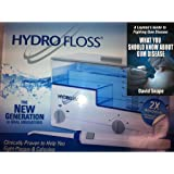 Hydro Floss Oral Irrigator Plus Book Bundled Package - 2 Items
