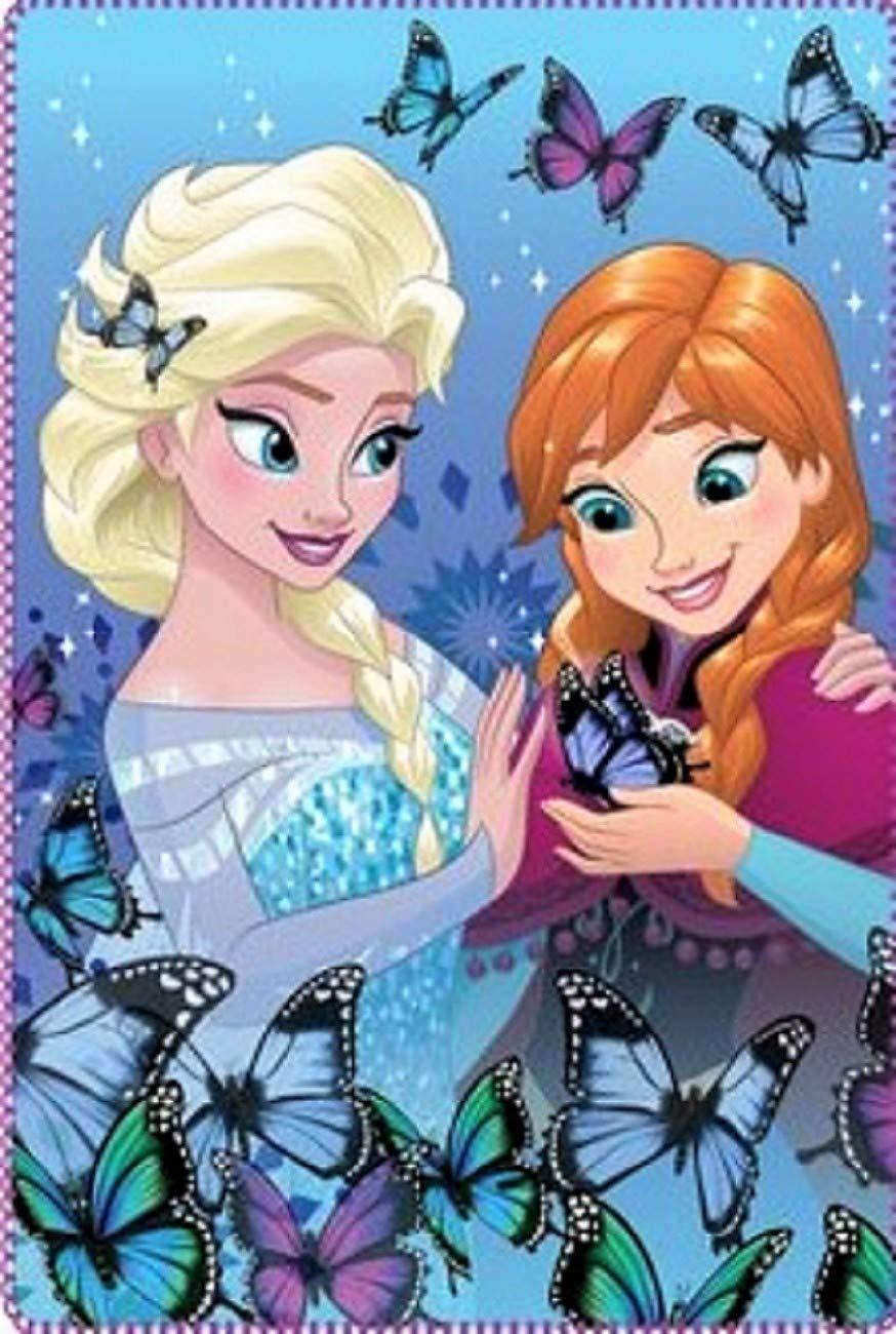 Disney Couverture Polaire Frozen 100X.