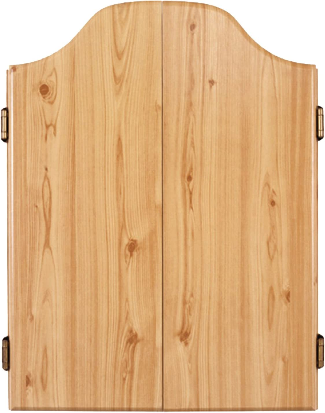 DMI Sports Deluxe Bristle Dartboard Cabinet Set Includes Two Steel Dart Sets with Rustic Rosewood Finish : Dart Board : Sports & Outdoors