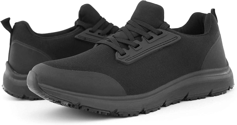 Hawkwell Women's Comfort Slip Resistant Food Service Work Shoes