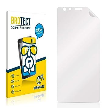 BROTECT Protector Pantalla Cristal compatible con ZTE Nubia Z17 Lite Gran Dureza, AirGlass