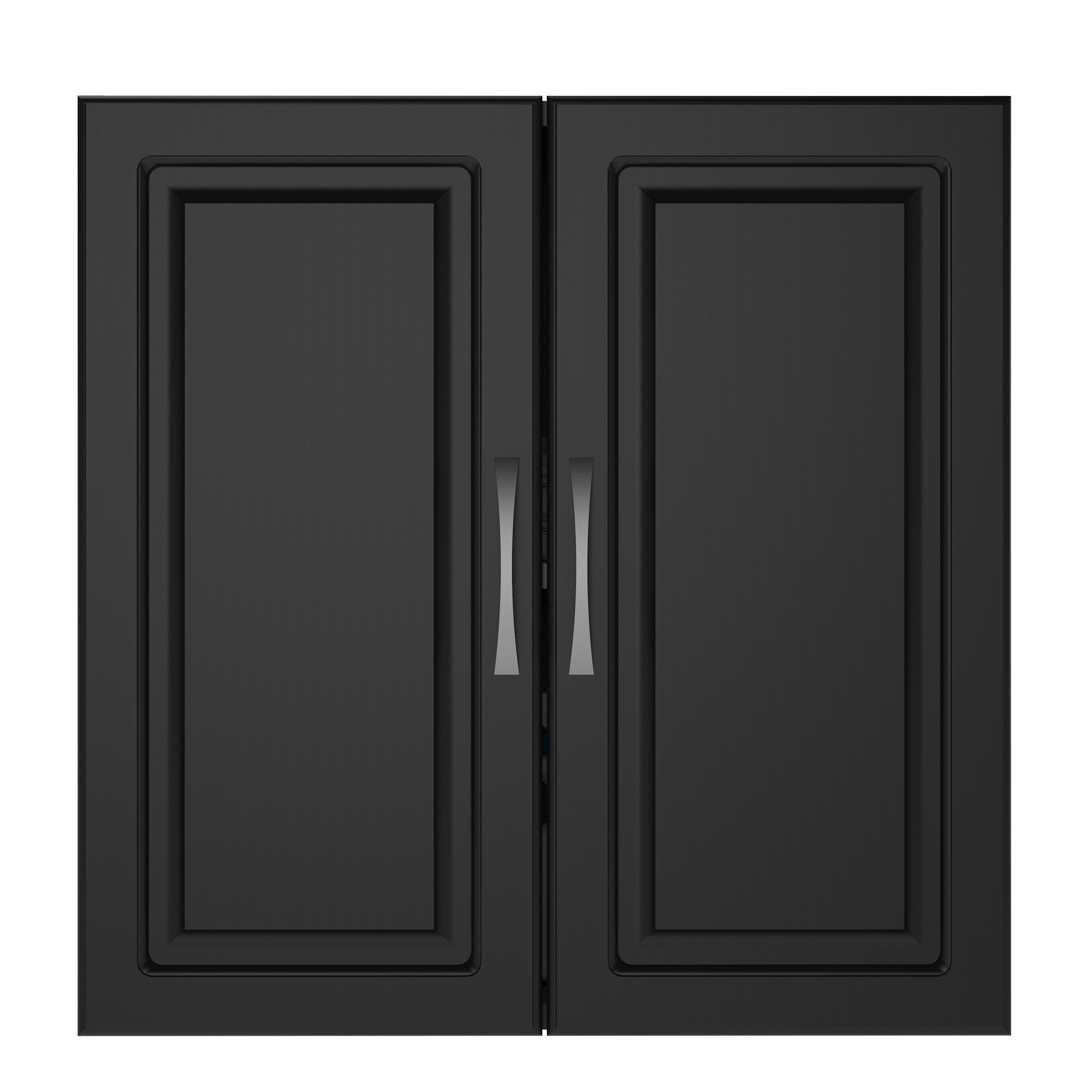 SystemBuild Kendall Wall Cabinet, 24'', Black