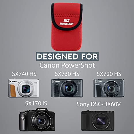 Megagear Mg041 Canon Powershot Sx740 Hs Sx730 Hs Kamera