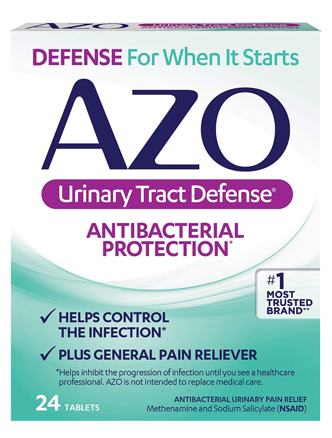 Azo Urinary Tract Defense Antibacterial Protection Helps Control A Uti Until You Can See A Doctor 1