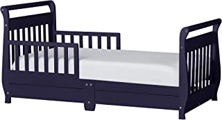 Dream On Me Toddler Bed with Storage Drawer - Black