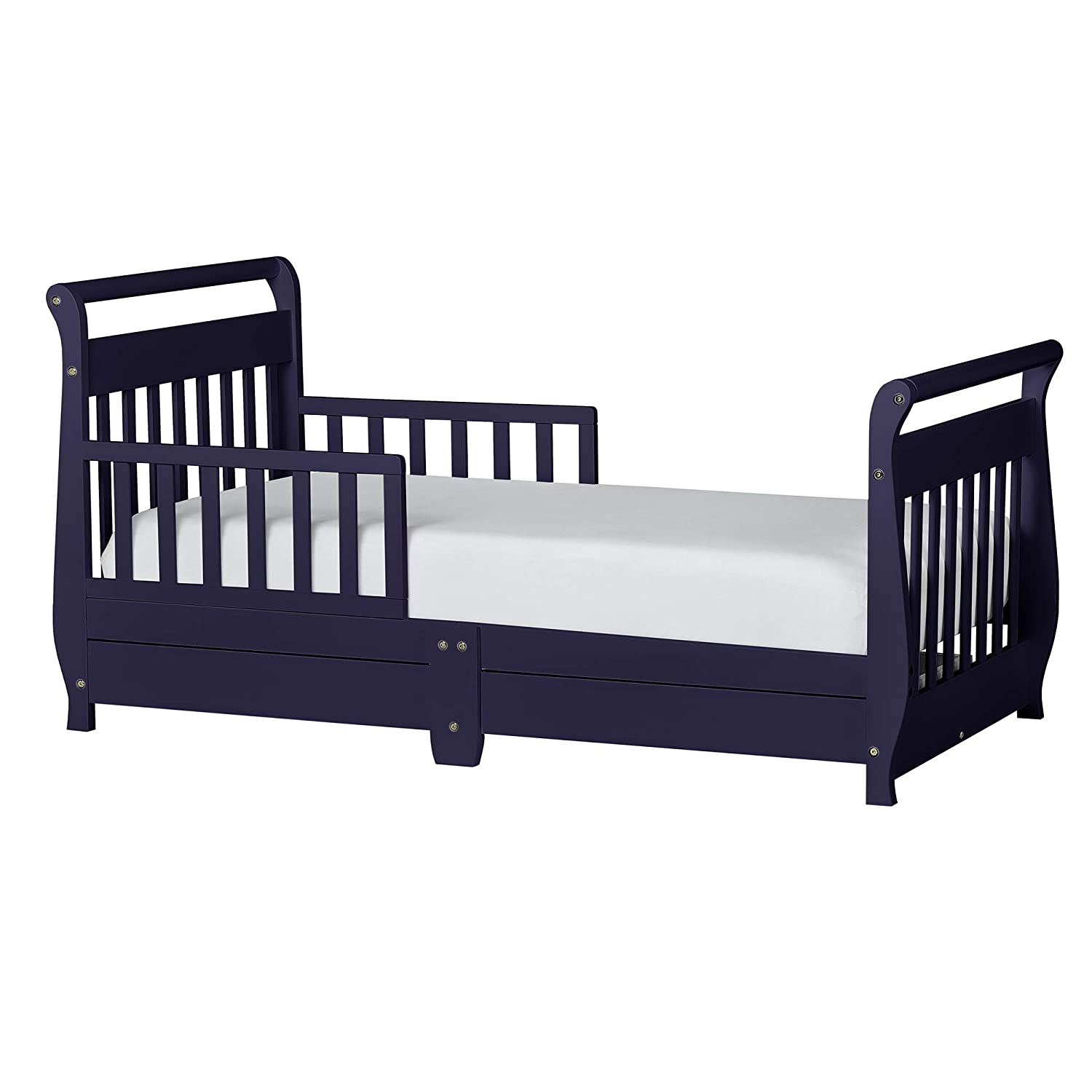 Amazoncom Dream On Me Toddler Bed With Storage Drawer Black Baby