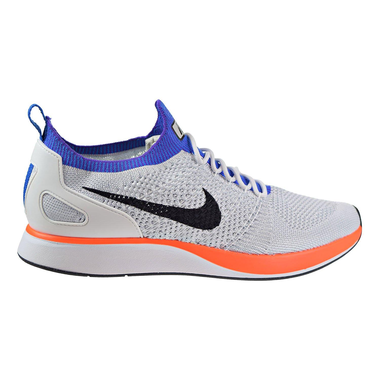 Nike Air Zoom Mariah Flyknit Racer Men's Running Shoes White/Hyper Crimson 918264-100 (13 D(M) US) 00-41C40C2E-JL