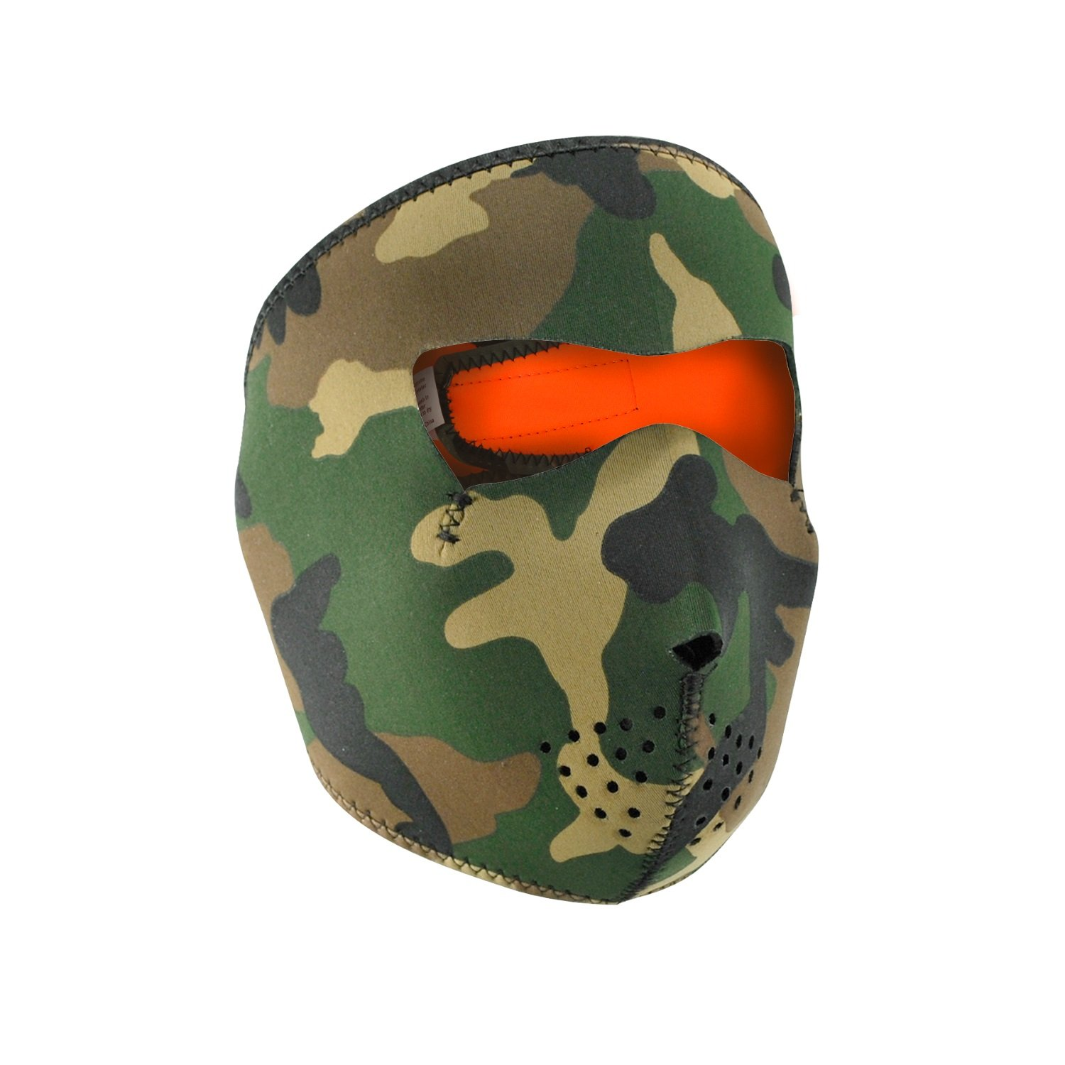 Zan Headgear Reversible Full Mask, Orange Sportsman Supply Inc. WNFM118HV