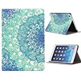 Moking Floral Pattern Flip Stand Leather Case Cover For iPad Mini 1 2 3 Retina