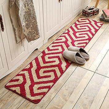 Cocina colchonetas colchones waterstuffs hogar larga vida cuarto de baño felpudos lavables a mano-L 40x120cm(16x47inch): Amazon.es: Hogar