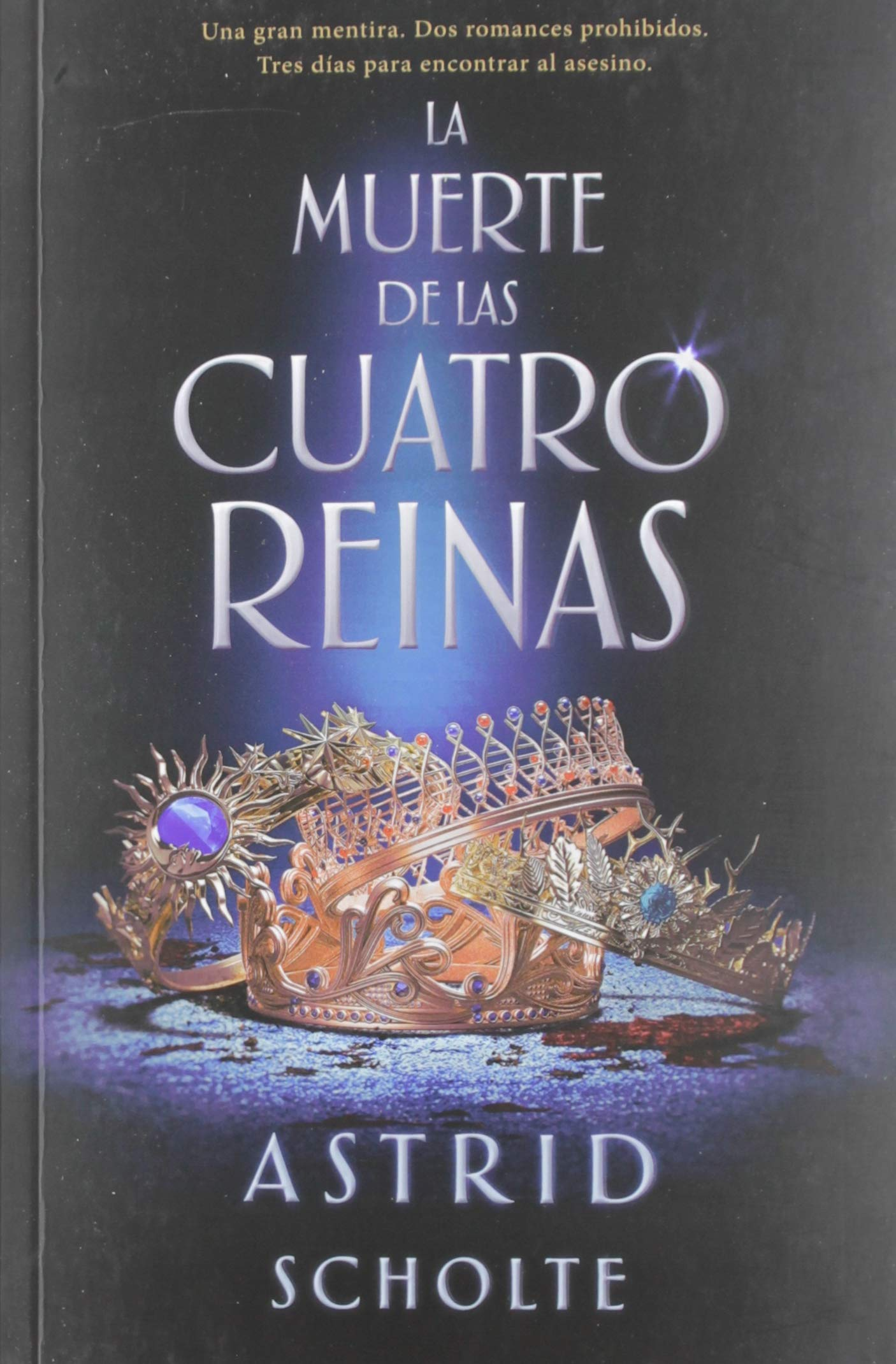 La muerte de las cuatro reinas (JUVENIL): Amazon.es: Astrid ...