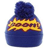61015cdb267 Hawkins baggy bobble beanie hat with a colourful fairisle pattern ...