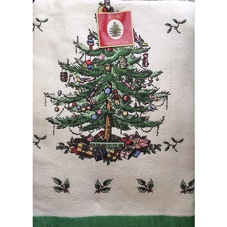 Amazon.com: Spode árbol de Navidad por AVANTI Linens Full ...