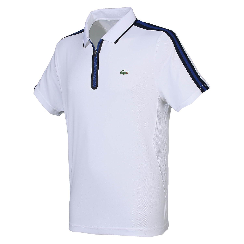 Zip Bleu Sport Loisirs 4Sports Polo Blanc Lacoste Homme Et XiuOZwkTPl