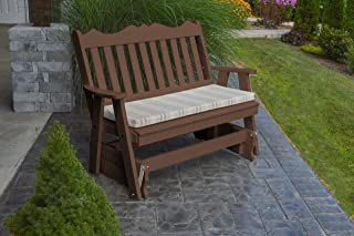 product image for Outdoor Poly 5 Foot Royal English Glider - Tudor Brown