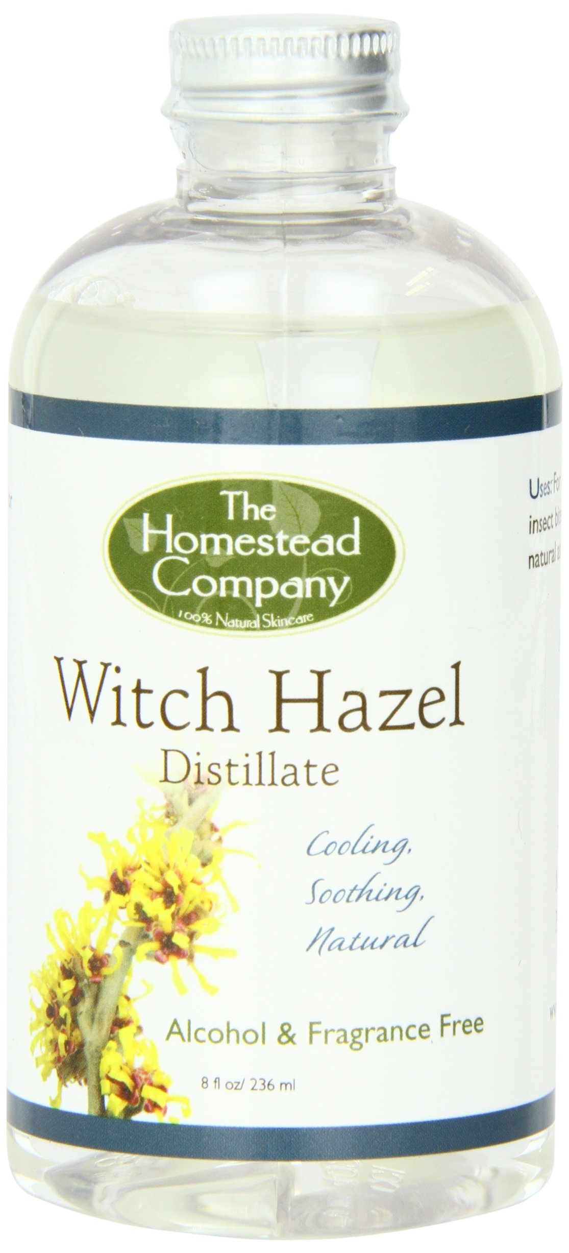 The Homestead Company - Witch Hazel Distillate Alcohol & Fragrance Free - 8 oz.
