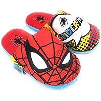 Zapatillas Spiderman Marvel de Estar por Casa - Zapatillas Spiderman Slippers Pantuflas para Niños
