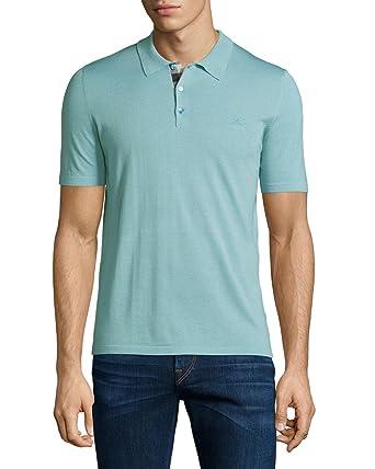 8e3dd544db19 BURBERRY BRIT - Polo pour Homme OXFORD  Amazon.fr  Vêtements et accessoires