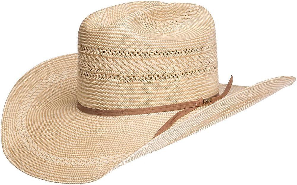 Stetson Mens 20X Hancock 4 1//4 Brim Pre Creased Cowboy Hat Medium Natural
