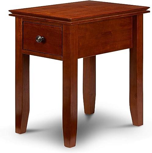 PJ Wood Rectangular Side Table
