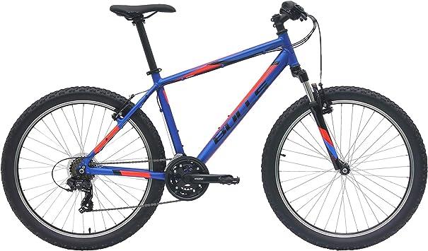 Bulls – Pulsar Señor bicicleta 2018 Mountain Bike MTB XC Hardtail Suntour Horquilla, color azul, tamaño 37 cm: Amazon.es: Deportes y aire libre