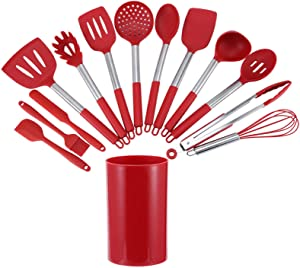 Exquisite Design Multi-purpose Cooking Tools Kitchenware Silicone Cookware Set Cooking Utensils for Kitchen for Restaurant