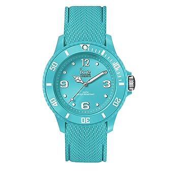 12cead37fc Ice-Watch - Ice Sixty Nine Turquoise - Montre Turquoise pour Femme avec  Bracelet en