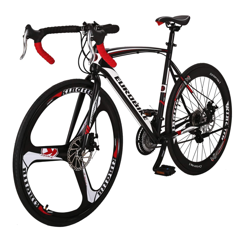 【ネット限定】 ロードバイクXC550-54FK 700C 21速トランスミッション 700C スチールフレーム700C B07PX4MTP6* 28C Black/White 48A/ Vタイヤ 自転車 Black/White B07PX4MTP6, 足柄下郡:6f3a818d --- senas.4x4.lt