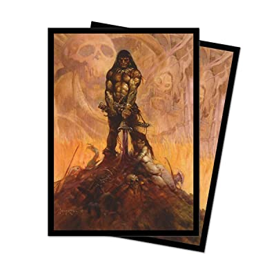 Frank Frazetta Art Series Barbarian Deck Protector Sleeves (100 Count): Toys & Games