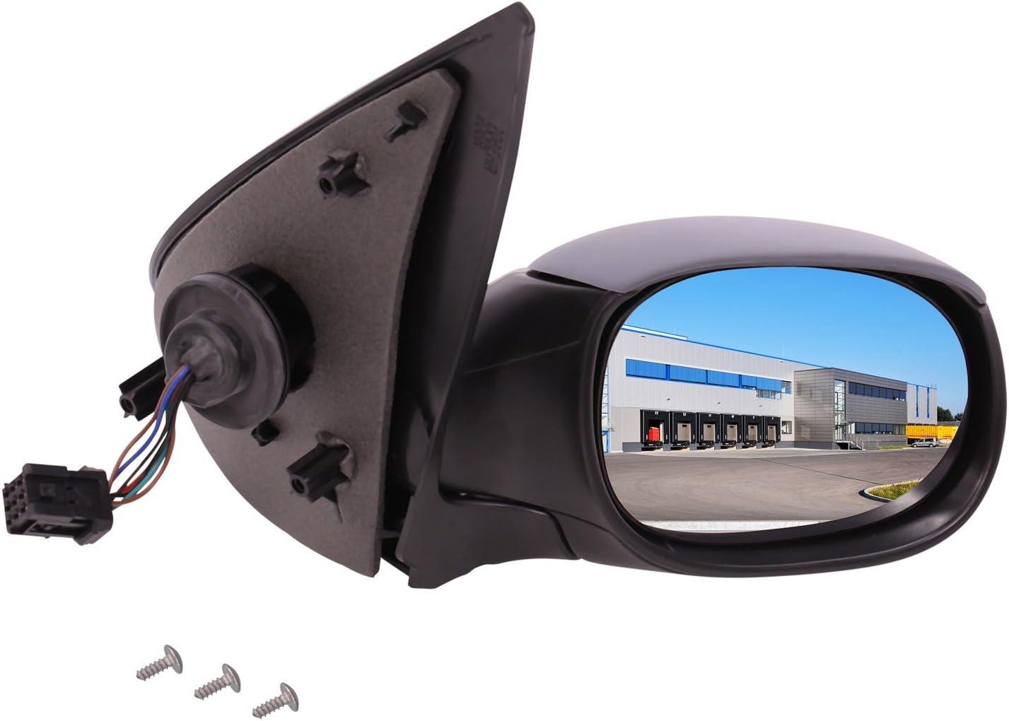 Außenspiegel Spiegel Rechts Konvex Beheizbar Für Elektr Spiegelverstellung Grundiert Mit Temperatursensor Auto
