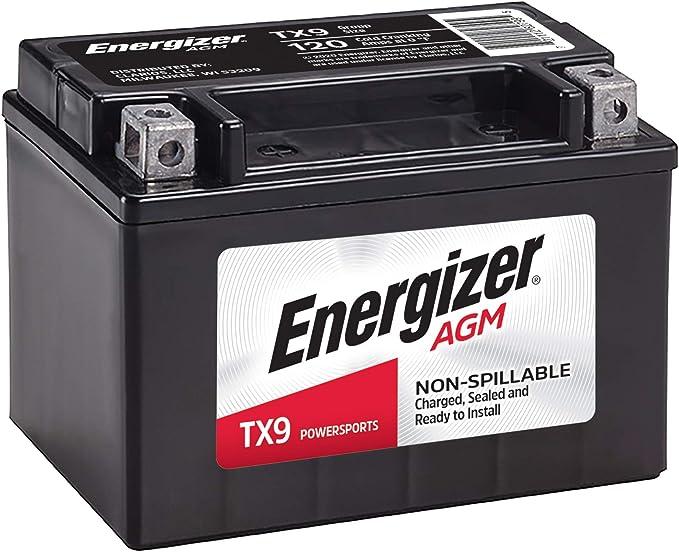 S Iboxx Motorrad Gel Batterie // Gelbatterie YTX9-BS Bj PC31 12 Volt 1995 8 Ah f/ür Honda CBR 600 F