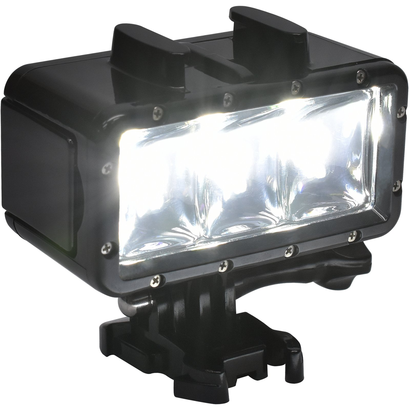 Precision Design WPL40 Waterproof Underwater Diving LED Video Light for DSLR, ILC, Point & Shoot & Action Cameras