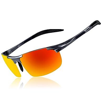 f9958858959 KITHDIA Driving Polarized Sunglasses For Men UV Protection Lightweight  Al-Mg Golf Fishing Metal Sunglasses