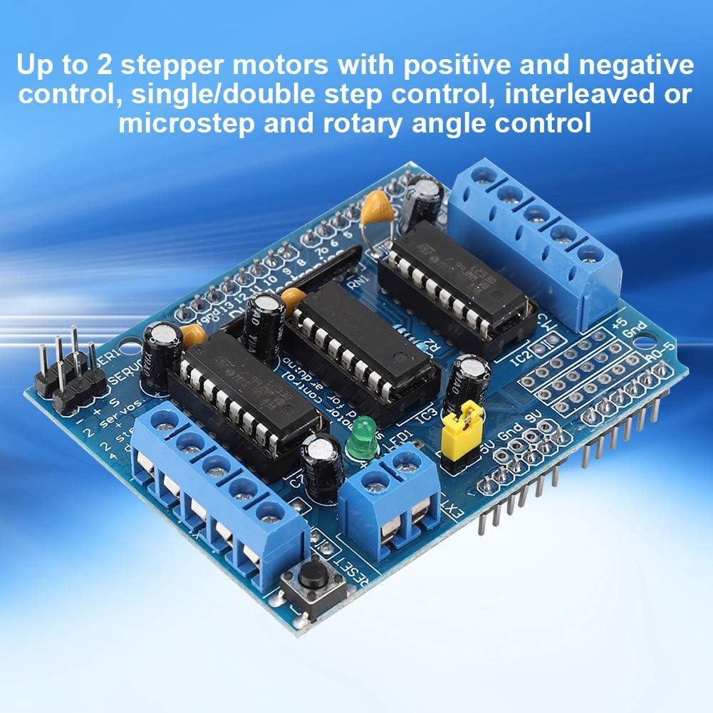 Ciglow Motor Driver Board 4 Channels DC Multi-Functional Motor ...