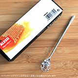 """Alessi""""acacia"""" Honey Dipper in 18/10 Stainless"""