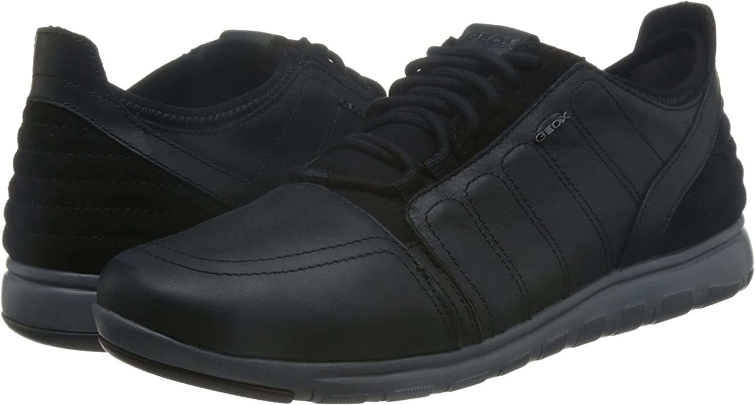 Geox U Xunday 2fit A, Baskets Basses Homme