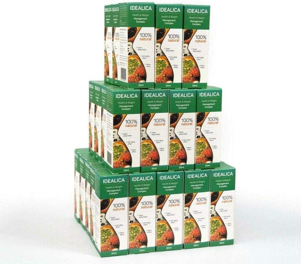 IDEALICA 100% Natural 20ml. Gotas Para Adelgazar Muy Rapido - Quemagrasas Potente Para Adelgazar - Antioxidante - Apto para veganos y vegetarianos - Sin gluten: Amazon.es: Salud y cuidado personal