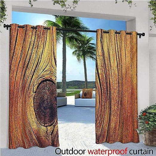Homehot - Cortina de privacidad rústica para exteriores para ...