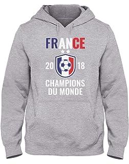 France Champions Coupe du Monde Football 2018 Sweatshirt