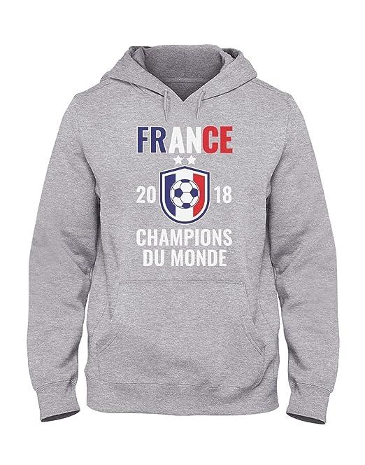 Green Turtle T-Shirts Sudadera con Capucha para Hombre - Francia Campeona del Mundo 2018!: Amazon.es: Ropa y accesorios