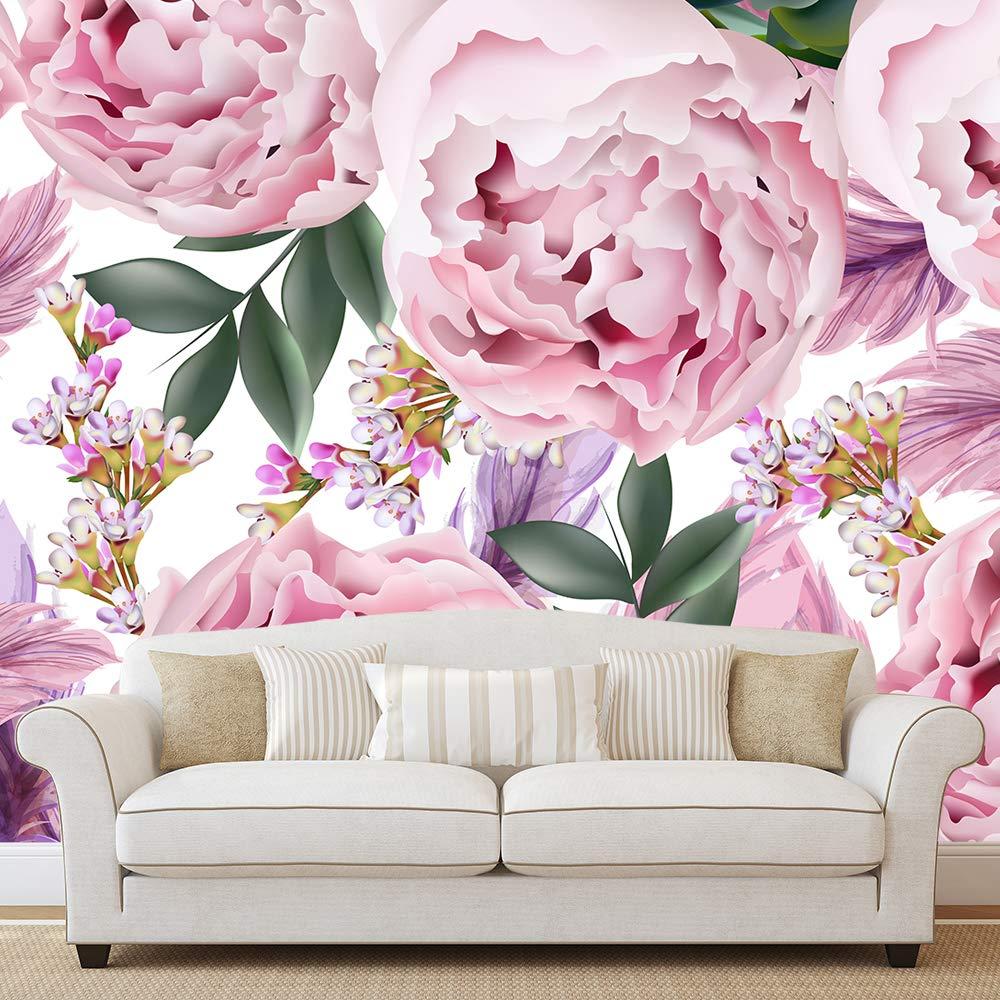 Amazon Com Pink Peony Wallpaper Tender Peonies Wallpaper