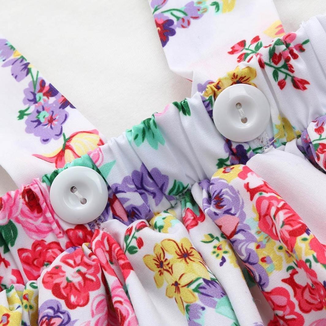 0-6 months, Blue Internet/_Kids Clothes For 0-24 months Years Old Girls Dress,Interent 2PC Newborn Baby Girl Toldder Floral Print Tutu Dress+Jumpsuit Romper Set Outfit